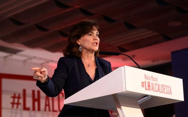 España no tiene que pedir perdón a ningún país: vicepresidenta - Foto de @socialistes_cat