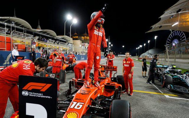 Leclerc firma en Bahréin su primera pole en Fórmula 1 - Foto de F1