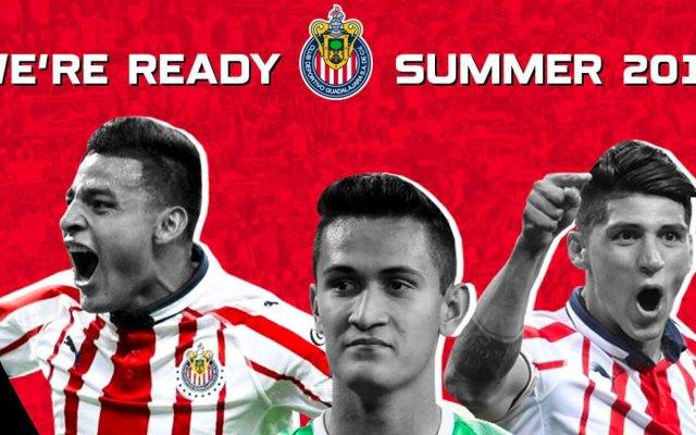 Chivas participará en la International Champions Cup - Foto de Twitter