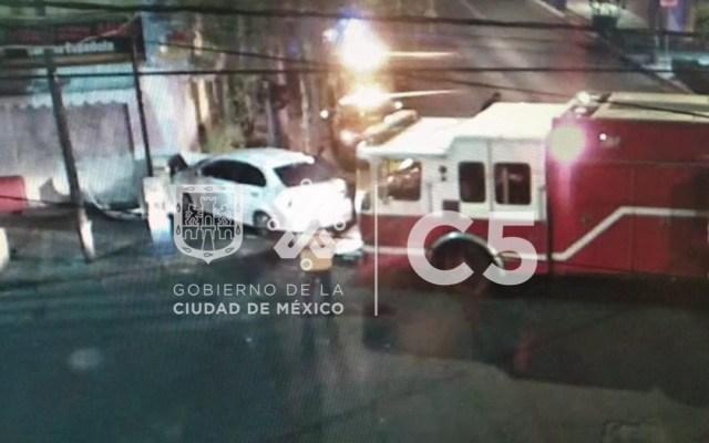 Choque de automóvil en la Roma Sur deja más de un lesionado - choque medellín y colombia