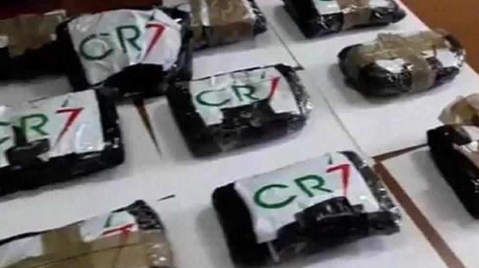 Aseguran cocaína en Italia en bolsas con las siglas de Ronaldo - cocaína cristiano ronaldo