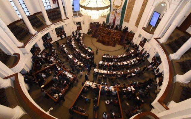 Congreso capitalino reforma artículo 60 de la Ley de Derechos Humanos en materia de desalojos inmobiliarios - Foto de @Congreso_CdMex
