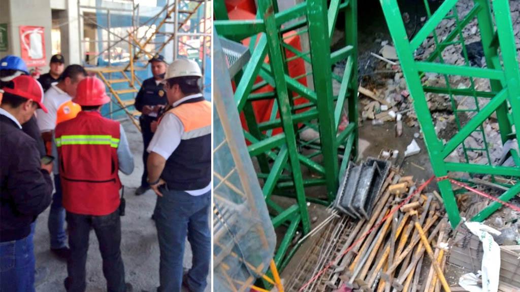 Muere trabajador de obra tras caer de estructura en Miguel Hidalgo - Foto de Alertas Urbanas