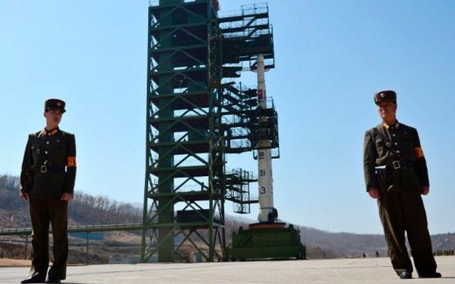 Corea del Norte dispara misiles de corto alcance hacia el Mar de Japón - Una base se misiles de Corea del Norte. Foto de AFP