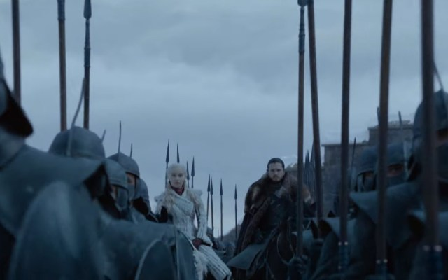 #Video Tráiler oficial de la última temporada de Game of Thrones - Daenerys y Jon. Captura de pantalla