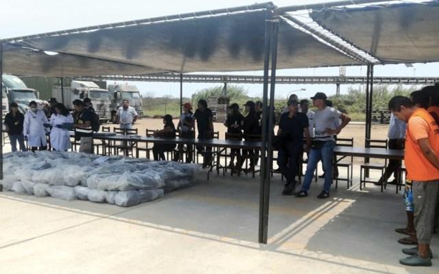 Incautan en Perú casi dos toneladas de cocaína rumbo a México - Foto de @FiscaliaPeru