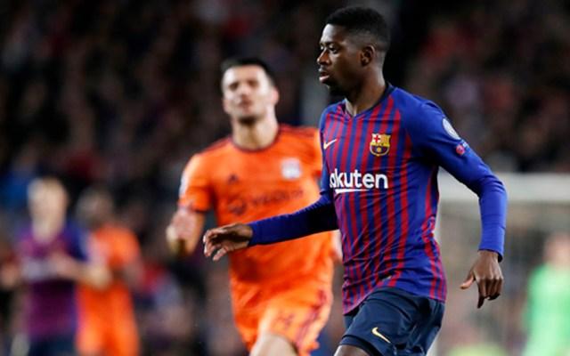 Dembélé causará baja un mes con el Barcelona tras rotura muscular - Foto de @FCBarcelona_es