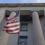 """Casa Blanca desea que el informe de Mueller """"siga su curso"""" - El Departamento de Justicia de Estados Unidos en Washington, DC. Foto de Tasos Katopodis / Getty Images / AFP"""