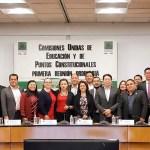 Diputados suspenden reunión sobre reforma educativa - Foto de @mario_delgado