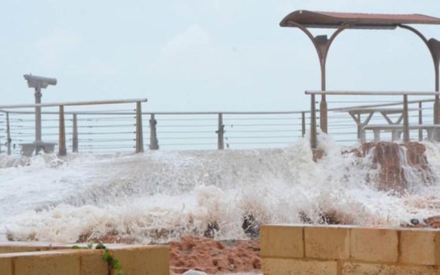 Australia sufre embate de segundo ciclón 'severo' - Efectos del ciclón Verónica en Australia. Foto de @KathrynDiss
