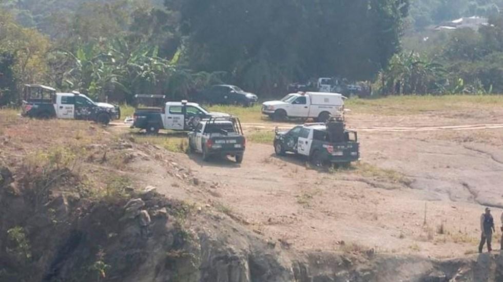 Enfrentamiento deja tres integrantes del CJNG muertos en Veracruz - Foto Especial