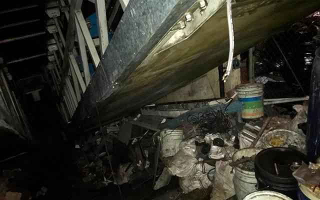 Metro reconoce falta de mantenimiento preventivo en escaleras - Foto de Metro