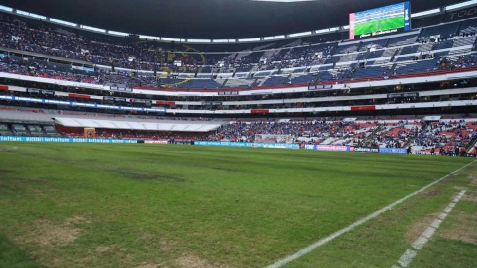 Cambiarán el césped del Estadio Azteca para partido de la NFL - estadio azteca césped nfl