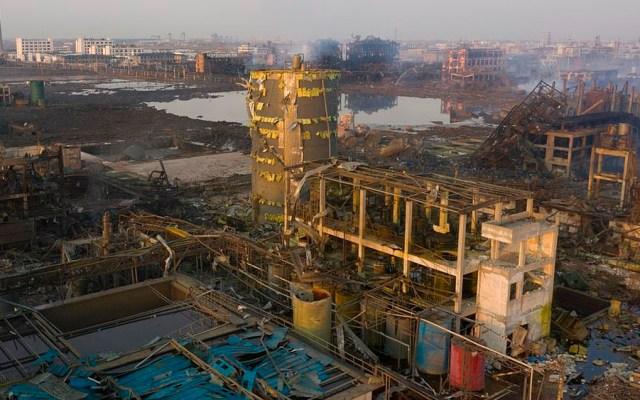 Suman 78 muertos tras explosión en planta química de China - Foto de VCG