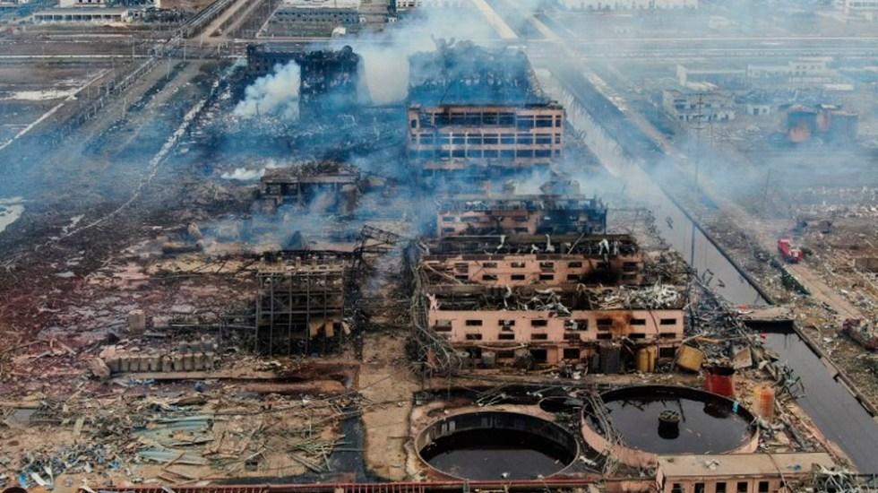 China abre investigación tras explosión en planta química - Foto de AFP