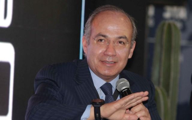 Calderón responde a acusación de López Obrador - Calderón