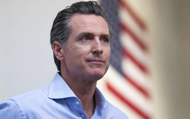 Gobernador de California decretará moratoria en penas de muerte - Gavin Newsom, gobernador de California. Foto de Alex EDELMAN / GETTY IMAGES NORTH AMERICA / AFP