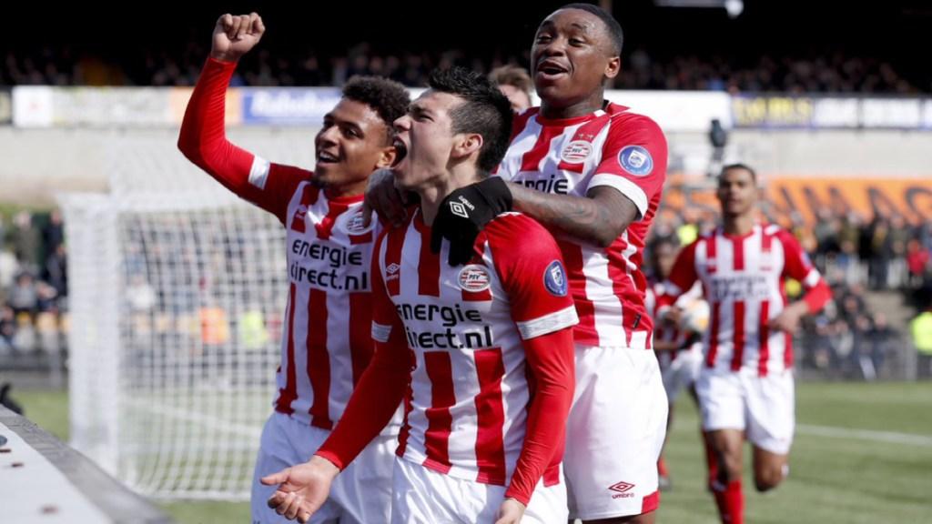 Con gol del Chucky Lozano, el PSV se mantiene como líder de la Eredivisie. Noticias en tiempo real
