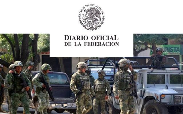Durazo espera que la Guardia Nacional sea publicada el lunes en el DOF