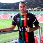 Gullit Peña nuevo jugador del GKS Tychy de Polonia - Carlos 'Gullit' Peña. Foto de http://gkstychy.info
