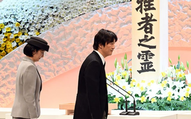 Japón conmemora el desastre de Fukushima - homenaje fukushima desastre