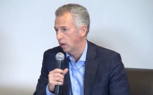 FGR tiene oportunidad histórica para esclarecer caso Pegasus: Inai - Joel Salas Suárez, comisionado del Inai, participa en el foro 'Vigilancia del Estado: Hacia la implementación de controles democráticos'. Captura de pantalla