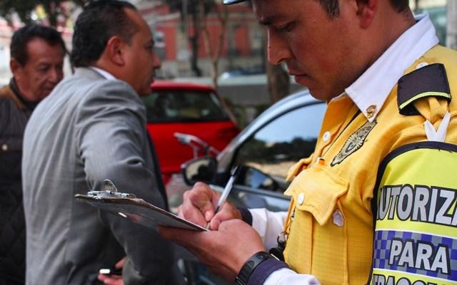 Gobierno de la CDMX condona el 80 por ciento en multas de Tránsito - Foto de El Economista