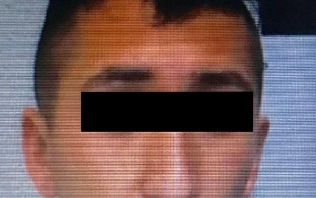 Detienen a homicida de oncólogo en la Benito Juárez - Javier A, presunto homicida del oncólogo Rubén Trejo. Foto de @c4jimenez