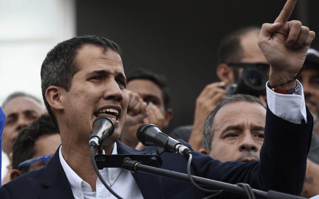 Guaidó convoca a nueva marcha contra Maduro - Foto de AFP