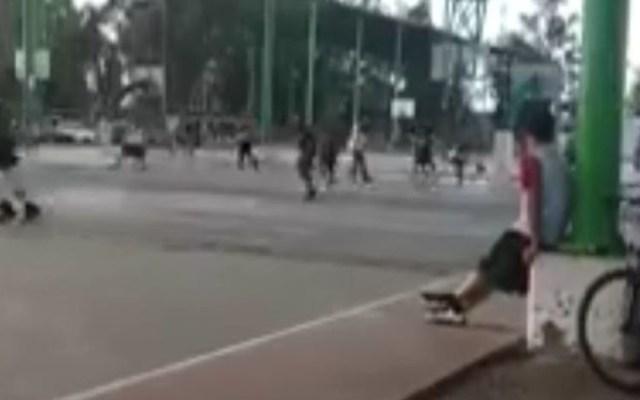 Balacera interrumpe partido de basquetbol en Sonora - balacera basquetbol sonora
