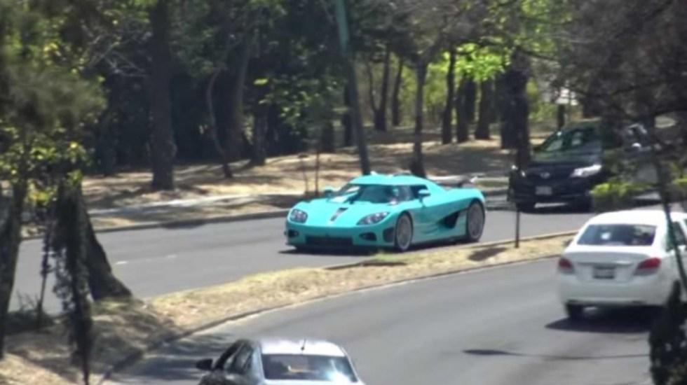 #Video Choque del Koenigsegg de 30 mdp en Reforma