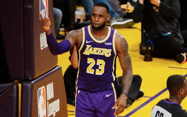 LeBron James supera a Jordan como cuarto máximo anotador de la NBA - Foto de AFP