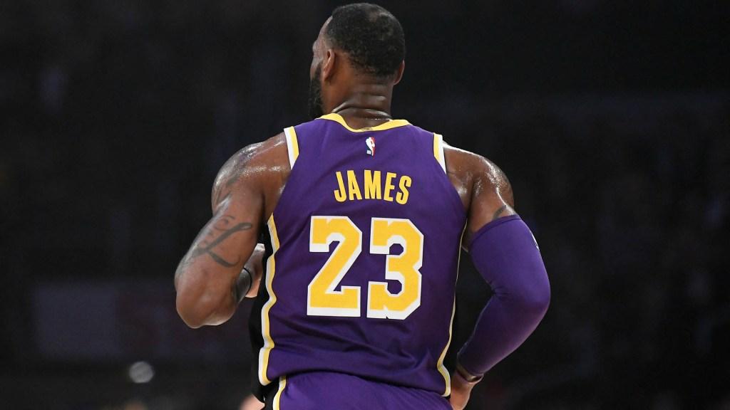 Lakers limitarán tiempo de juego de LeBron James el resto de la temporada - LeBron James