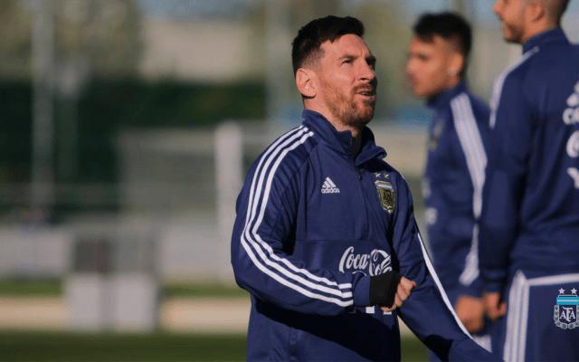 Venezuela prueba el regreso de Messi con Argentina - Foto de AFA - Selección Argentina