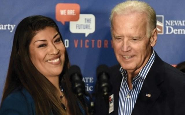 Exlegisladora acusa a Joe Biden por conducta indebida - Foto de AFP