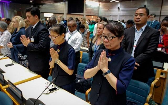 Minuto de silencio en la ONU tras accidente en Etiopía - Foto de AFP