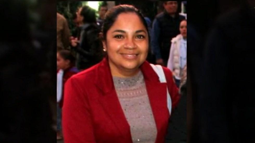 Localizan sin vida a la mamá del niño abandonado en Periférico - Madre de Bruno, quien fue secuestrada. Captura de pantalla