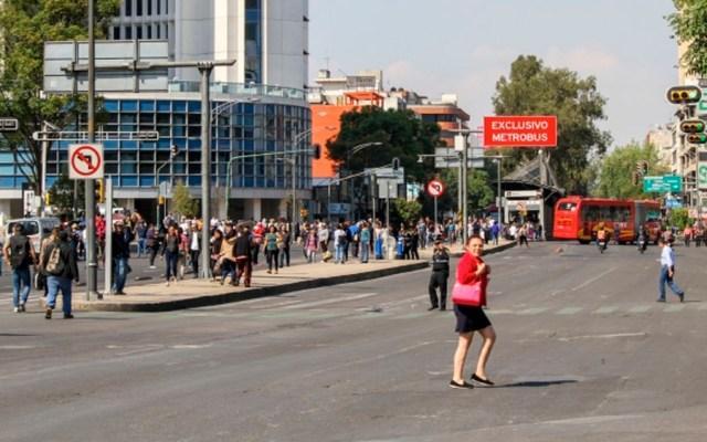 Al menos seis manifestaciones este martes en la Ciudad de México - Foto de Notimex