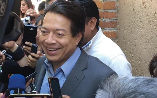 Mario Delgado confía que hoy haya condiciones para votar dictamen de la reforma educativa - Foto de Twitter Mario Delgado