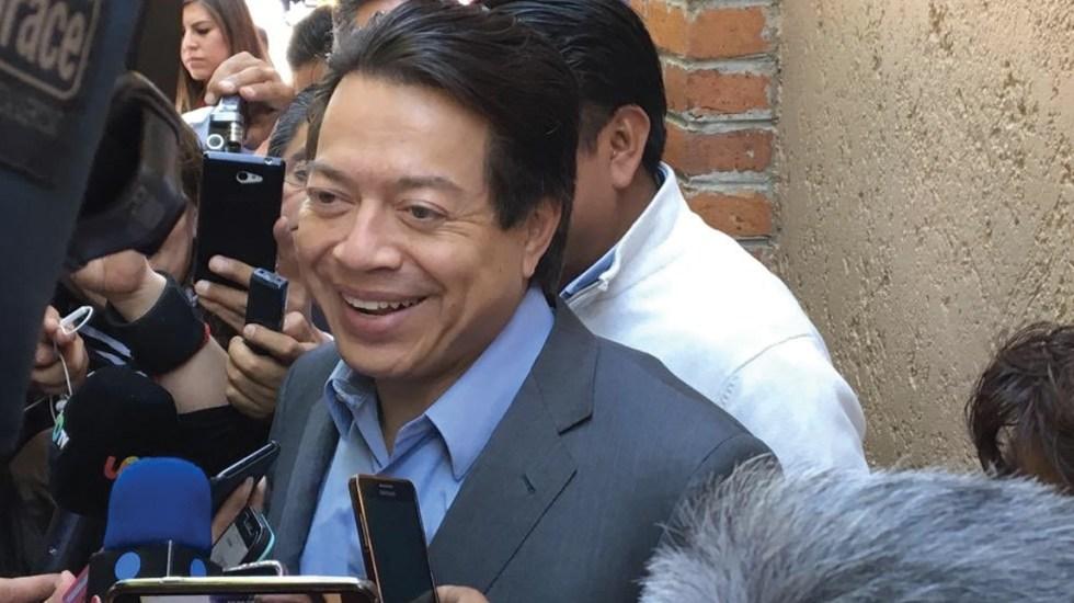 Mario Delgado pide a CNTE no bloquear la Cámara para avanzar con Reforma Educativa - Foto de Twitter Mario Delgado