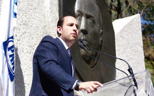 PAN pide 'respuestas concretas' en informe de 100 días de Gobierno - Marko Cortés Mendoza. Foto del PAN