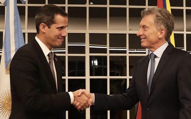 Macri recibe a Juan Guaidó en Buenos Aires - Mauricio Macri recibió a Juan Guaidó en Buenos Aires. Foto de @mauriciomacri