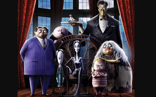 El primer póster de 'The Addams Family Halloween' - Foto de IMDb