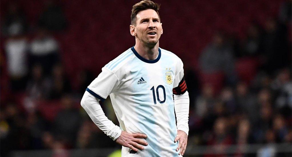 Messi no jugará amistoso contra Marruecos por molestias en el pubis - Foto de AFP