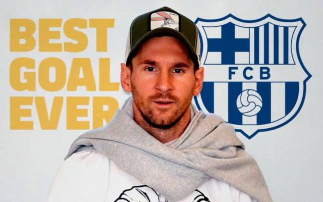 Gol de Messi contra Getafe, el mejor de la historia del Barcelona - Foto de @FCBarcelona_es