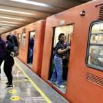 Muere persona al caer a las vías del Metro - Foto de Notimex