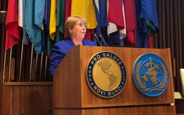 Michelle Bachelet prepara su visita a Venezuela - Naciones Unidas