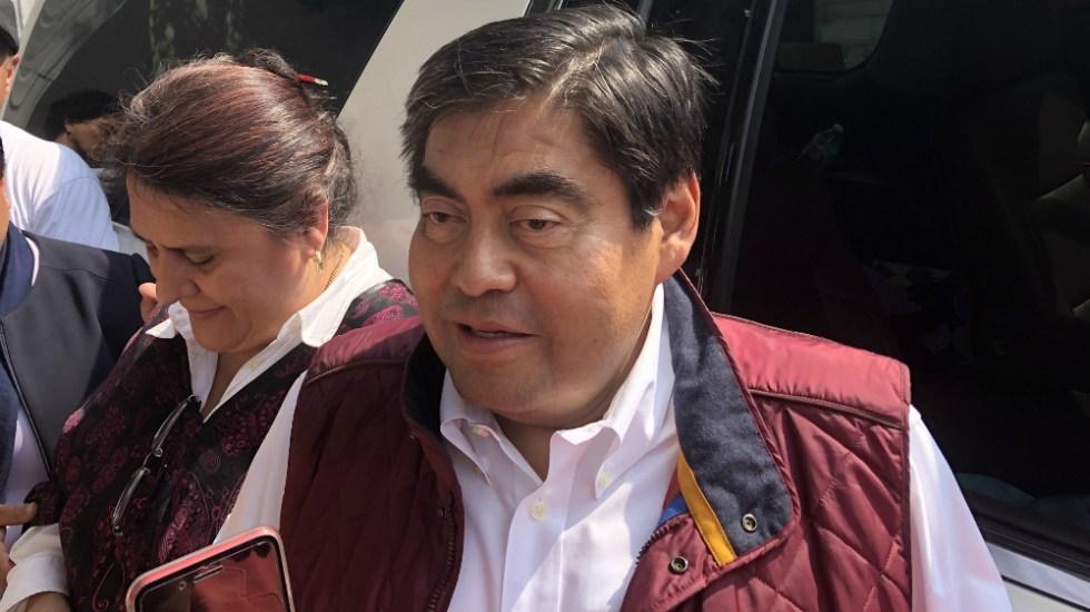 Miguel Barbosa será candidato a la gubernatura de Puebla por Morena - Foto de Notimex