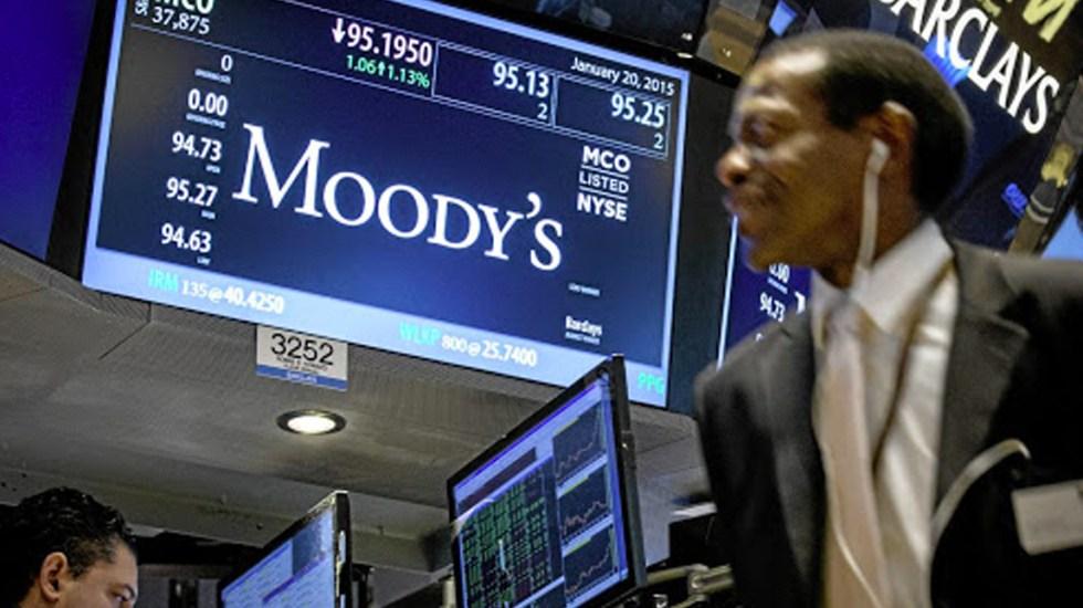 No hay riesgo de pérdida de grado de inversión en México, señala Moody's - Moody's