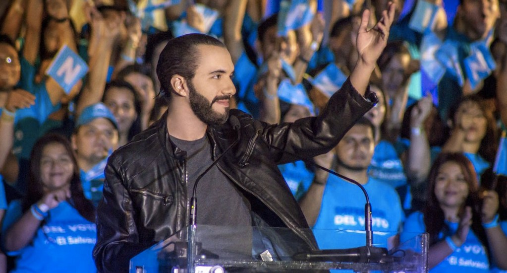 Absuelven a presidente electo de El Salvador de cargo de violencia - Nayib Bukele, presidente electo de El Salvador. Foto de @nayibbukele